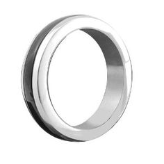 """Heart 2 Heart Metal C-ring, Stainless Steel With Black Band, Includes Bag, 1.875 by Heart 2 Heart. $35.77. 5 unique designs. Unique contemporary design. 100% stainless steel. Shipped in a red velvet storage bag. Three sizes. At last, a stainless steel cock ring that is both beautiful and affordable! this 100% stainless steel cock ring in gleaming chrome is accented with a smoldering black band. this 1.875"""" beauty ships in a red velvet pouch and is also available..."""