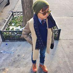 Street Style con niños, fashion kids