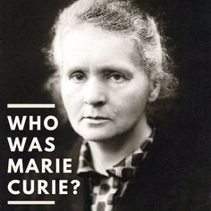 Who is Marie Curie? Learn about this Polish and naturalized-French physicist and chemist who discovered radioactivity. She was the first woman to win a Nobel Prize and the first person to win 2 Nobel Prizes in different fields. She was a genius scientist! School Lessons, Lessons For Kids, Teaching Kids, Teaching Tools, Teaching Resources, Global Awareness, Kids Around The World, Animal Science, Fiction And Nonfiction
