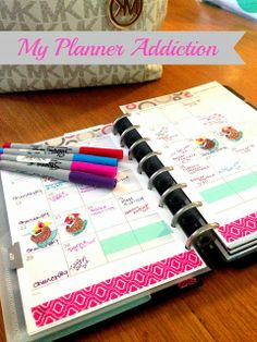 Lollipos and High Heels My Planner Addiction: Inside my ARC and Martha Stewart for Staples