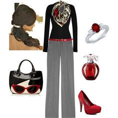 Fun work outfit, created by jennaplatt on Polyvore
