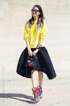 StreetStyle #pfw Irene Kim                              …