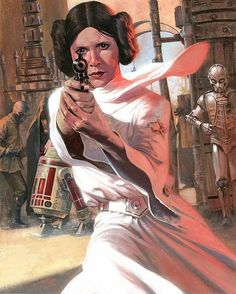 regram @gil_osbourne @Regrann from @thegeekrealm -  Good Afternoon and Happy Wonder Woman Wednesday  Today is a very special edition as I will be dedicating today's posts to Carrie Fisher @carriefisherofficial  with one of the most badass female characters Princess Leia Organa. Enjoy!  - Princess Leia by Gabriele Dell'Otto #ripcarriefisher #rip #carriefisher #princessleia #leia #starwars #wonderwomanwednesday #wcw