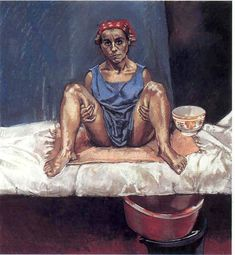 Pastel on paper mounted on aluminum, 110 x 100 cm. Pastel on paper mounted on aluminum, 110 x 100 cm. Paula Rego Art, Figure Painting, Painting & Drawing, Gouache, Pastel, Fine Art, Contemporary Paintings, Portraits, Figurative Art