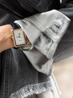 Striking & Simple / Chanel Watch / Garance Doré