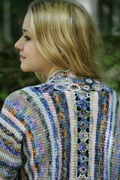 Ravelry: Pebble Flower Jacket pattern by Kathy Merrick