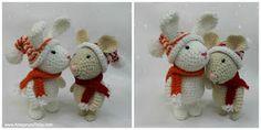 Amigurumi To Go: Winter Bunny Free Amigurumi Pattern