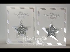 Dawns Stamping Studio: Fancy Vellum Christmas card video