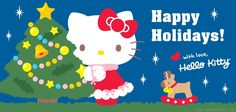 Seasons Greetings from Hello Kitty