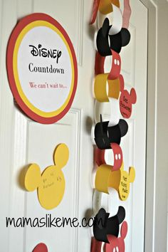 Mamas Like Me: #Disney Countdown Ideas - 3 Fun Ways to #countdown to a Disney Vacation with #Kids.