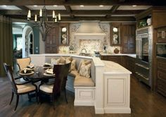 Love the dining bench