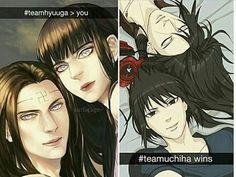 Hyuuga VS Uchiha  Both are stunning and beautiful ❤️❤️❤️