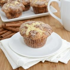 Amazing recipes: Snickerdoodle muffins - these are amazing!!!  A little more work than I prefer for muffins but they are so worth it.  I didn't roll in the cin-sugar - I sprinkled a little into each empty liner then generously sprinkled the tops.  Definitely need to use a full rounded cupcake scoop, they could have been bigger (I got 26).  I also used 1/2 whole wheat flour.  SO good.