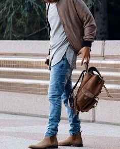 mode homme automne hiver 2017 2018 nouvelles tendances bottines chelsea  Bottines Chelsea Homme, Homme Chic