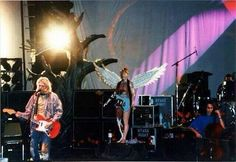 Nirvana. In Utero tour when they brought Pat Smear and the cellist along.