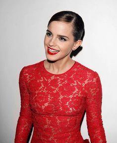 Emma Watson Red Dress - KD Dress