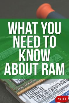 Shopping for RAM can be confusing. What's the difference between DDR3 and DDR4? DIMM and SO-DIMM? Is there a difference between DRR3-1600 and PC3-12800? Is RAM latency and timing important? Read on for explanations on the different kinds of RAM, how to read RAM specifications, and exactly how RAM works. #Hardware #Electronics #Components #Memory #RAM #Computer #Computing #PC #BuyingAdvice Electronics Components, Confused, Need To Know, It Works, Advice, Hardware, Memories, Technology, Tecnologia