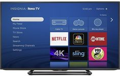"Insignia 55"" Class LED 4K Ultra HD TV Smart Roku TV"