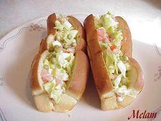 Hot Dog Buns, Hot Dogs, Sandwich Croque Monsieur, Burritos, Tacos, Lunch, Bread, Healthy, Ethnic Recipes