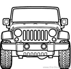 jeep inspired SVG DXF instant digital download by