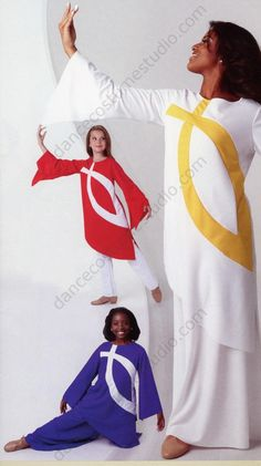 Ichthys Liturgical Dance Tunic