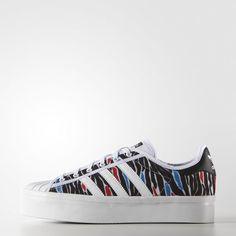 separation shoes 63dc0 a309b Zebra Print Superstar Rize Shoes - White Estampados De Moda, Plataformas,  Zapatillas, Tenis