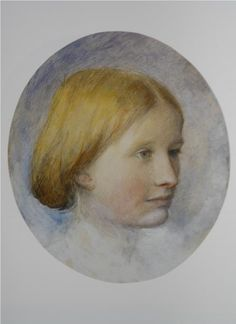 Portrait of Rose La Touche, 1861 - John Ruskin
