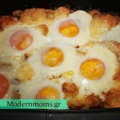 Η αυγό-πατατόπιτα που ξετρέλανε το διαδίκτυο! Cookbook Recipes, Cooking Recipes, Breakfast Recipes, Snack Recipes, Breakfast Ideas, Brunch, Greek Cooking, Greek Dishes, Greek Recipes