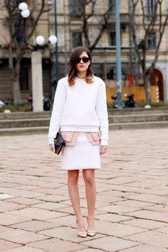 (via Street Style: Eleonora Carisi in Milan)