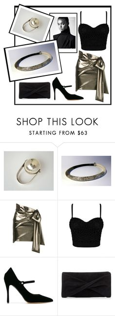 """""""Sirio #7"""" by colchico ❤ liked on Polyvore featuring Anello, Yves Saint Laurent, Tabitha Simmons and Reiss"""