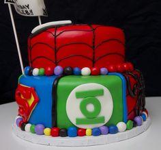 "Superhero Cake in ""Children's Cakes"" — Photo 4 of 4"