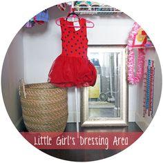 little girls dressing area..