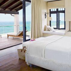 Bedroom by the Sea - Mediterranean-Style Houses with Ocean Views - Coastal Living