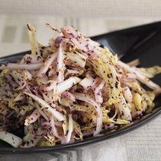☆白菜のゆかりサラダ☆ | レシピブログ Cabbage, Vegetables, Recipes, Food, Japanese, Japanese Language, Recipies, Essen, Cabbages