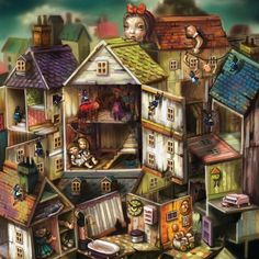 EA Gear - The Doll House Lithograph - Alice: Madness Returns - Titles
