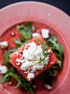 Watermelon salad...perfect for summer!
