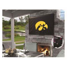 Iowa Hawkeyes Indoor/Outdoor TV Cover