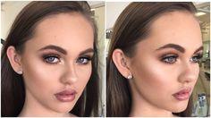 Bronzed, Soft & Glowy Makeup Tutorial ♡ Jasmine Hand - YouTube