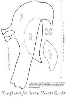 BlackBird Designs (Support Page Free Applique Patterns, Applique Templates, Sewing Appliques, Bird Patterns, Quilt Patterns, Bird Applique, Applique Quilts, Primitive Doll Patterns, Fabric Birds