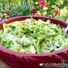 The Best Raw Vegan Caesar Salad Dressing Recipe!