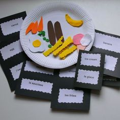 French Crafts for kids | French for Kids Food Craft Kit 5-12 Years - Folksy