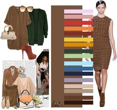 brown: color combinations