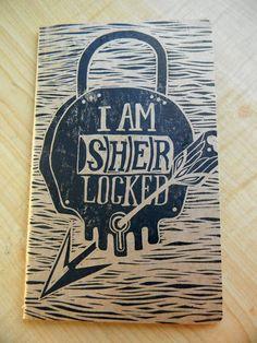 Sherlocked Sketchbook Journal.