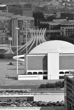 Museu Nacional de Brasília Brazil (2006) | Oscar Niemeyer | Photo © Gonzalo Viramonte