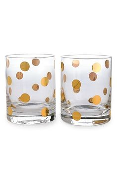 Free shipping and returns on kate spade new york 'pearl place' double old-fashioned glasses (set of 2) at Nordstrom.com. Gleaming metallic dots add unmistakable signature flair to an elegant set of double Old-Fashioned glasses.