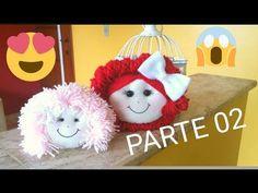COMO FAZER CABELINHO DE BONECA DE PANO - PARTE 02 FINAL - YouTube