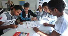 Flüchtlingskinder an einer deutschen Schule (Archiv)