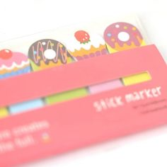 Post it / Marque page Donut