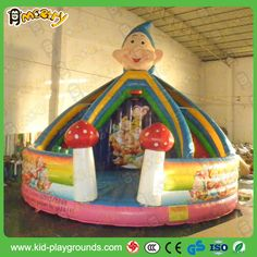 Seven Dwarfs Inflatable Playland For Kids