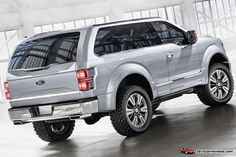2016 Ford Bronco Svt Design Raptor Car